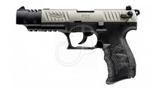 "WALTHER SEMIAUTO P22-QD 5"" TGT NICKEL 22LR+1C"