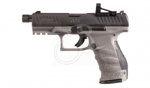 "WALTHER SEMIAUTO PPQ Q4 TAC 4.6""9X21 COMBO+2C"
